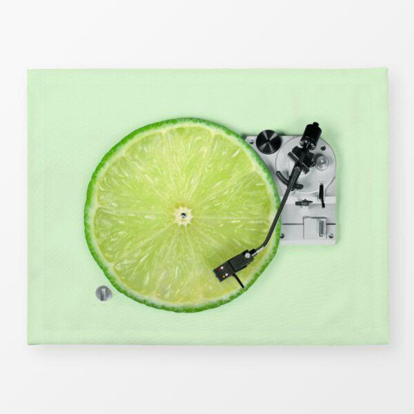 Tischset, 2 Stück im Set, 35x45cm, Design Lemon DJ 2