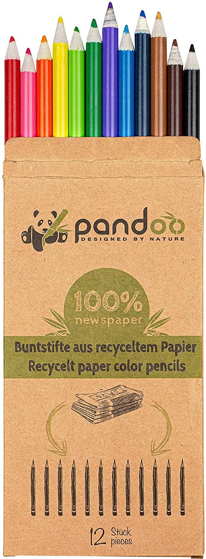 Beistifte aus recyceltem Zeitungspapier - e-tyisch