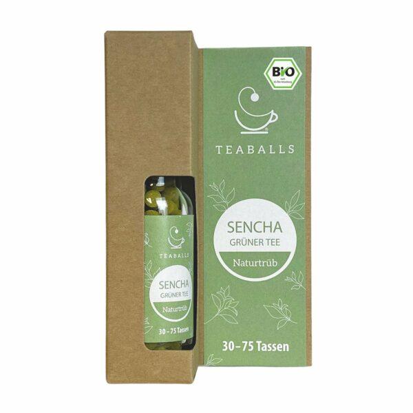teaballs bio sencha - e-typisch