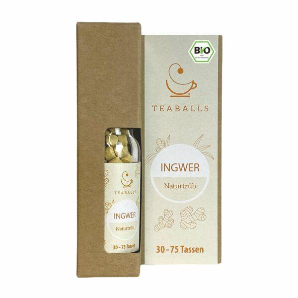 teaballs bio ingwer - e-typisch