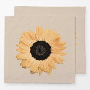 leinenservietten im 2erset-sunflower