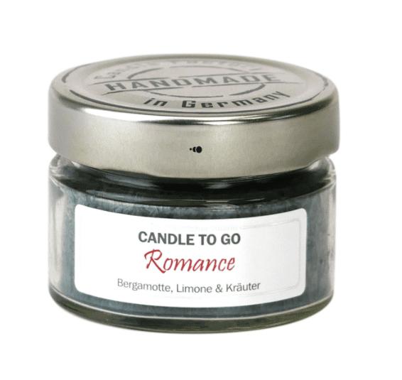Duftkerze CANDLE TO GO mit Duft Romance 1
