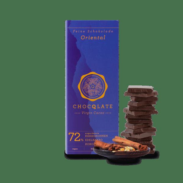 vegane Schokolade Oriental