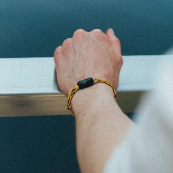 Armband aus Geisternetzen - Atlantic Ocean - größenverstellbar 3