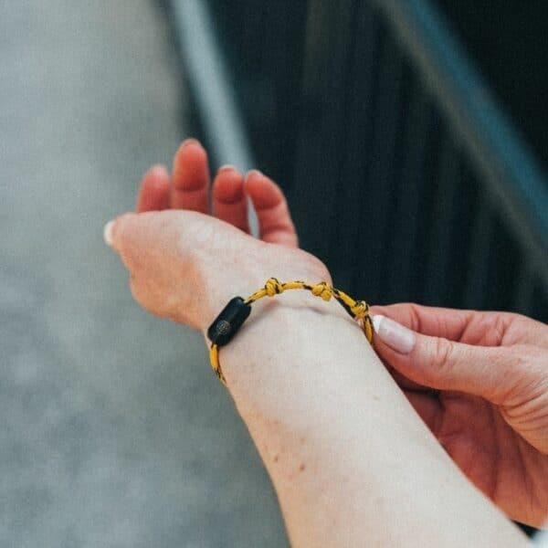 Armband aus Geisternetzen - Atlantic Ocean - größenverstellbar 4