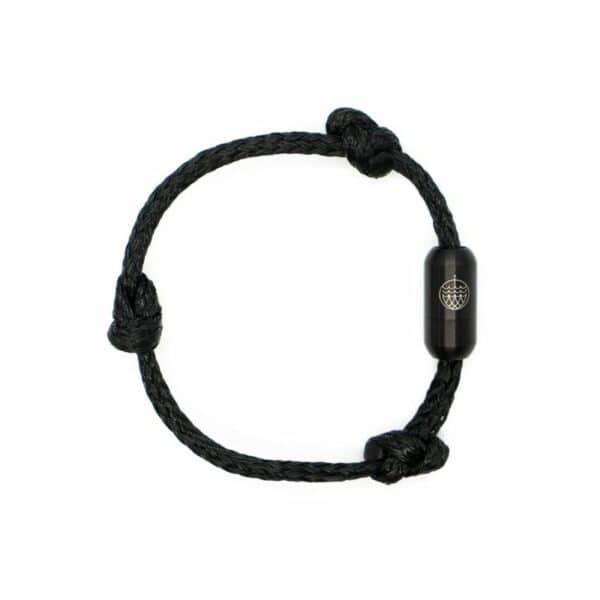Armband aus Geisternetzen - Black Sea II- Sondergröße (23 cm) 1