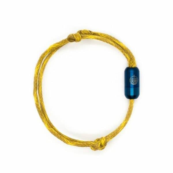 Armband aus Geisternetzen - Wadden Sea - Größe M (21 cm) 1