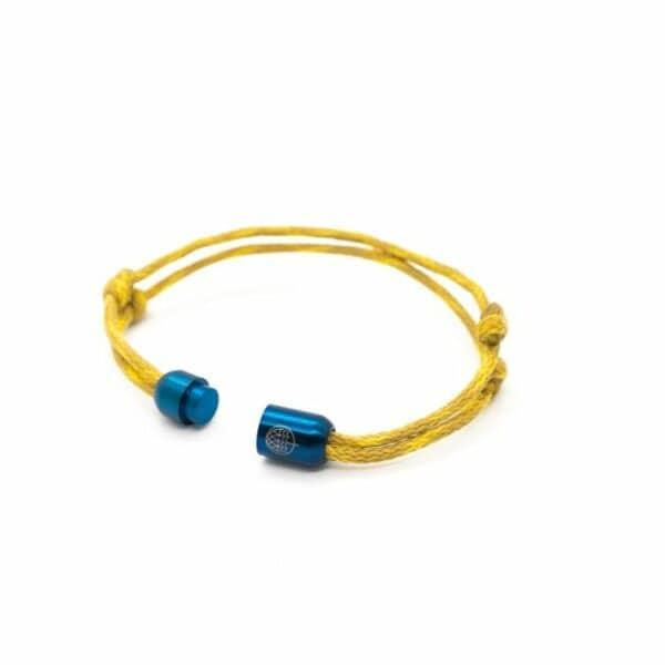 Armband aus Geisternetzen - Wadden Sea - Größe M (21 cm) 2