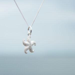 Silberkette Seestern - e-typisch